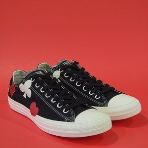 Converse CTAS Low 'Deck of Cards' Sneakers NWT
